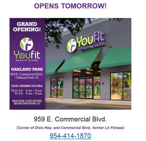 Youfit is now open