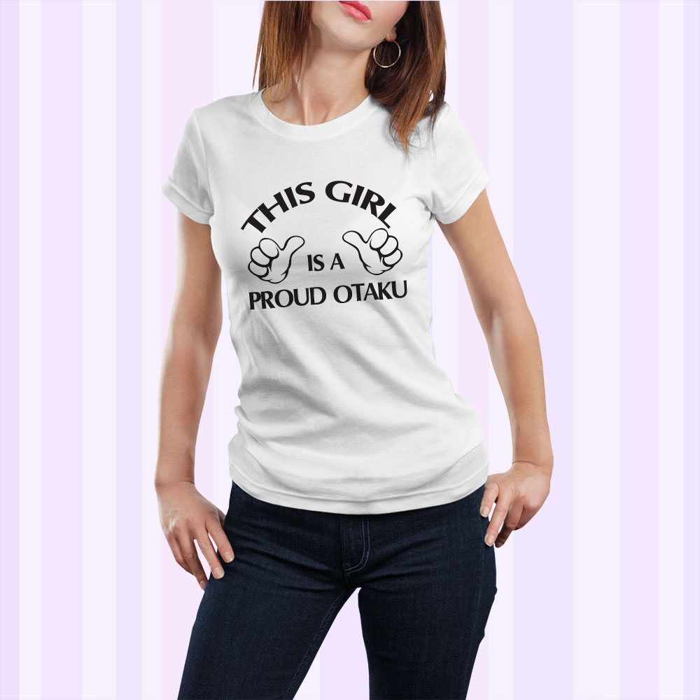 Woman T Shirt Mock Up This Girl Otaku