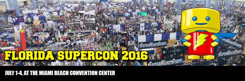 We are going to Florida Supercon!